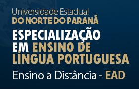EAD Especialização em Ensino de Língua Portuguesa
