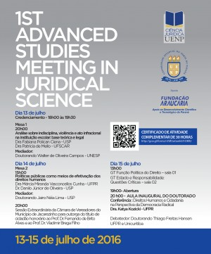 1st Advanced Studies Meeting in Juridical Science